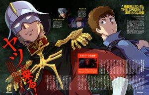 Rating: Safe Score: 9 Tags: amuro_ray char_aznable gundam gundam_the_origin kotobuki_tsukasa male User: drop