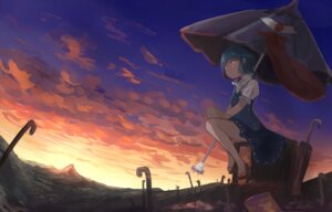 Rating: Safe Score: 29 Tags: dress landscape mifuru tatara_kogasa touhou umbrella User: Mr_GT