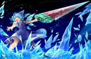 Rating: Safe Score: 7 Tags: cirno kokka_han sword touhou User: Mr_GT