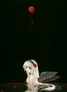 Rating: Safe Score: 27 Tags: eyepatch kuroi_goth_loli_no_shoujo misaki_kurehito tokyo_cpe wings User: midzki