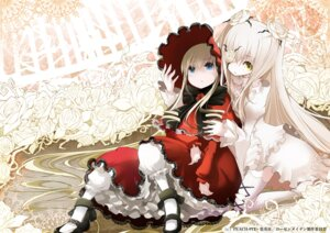 Rating: Safe Score: 29 Tags: eyepatch kirakishou lolita_fashion rozen_maiden shinku tansuke User: tbchyu001