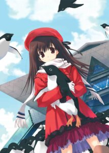 Rating: Safe Score: 11 Tags: mitsumi_misato penguin User: admin2