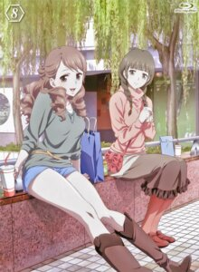Rating: Safe Score: 32 Tags: disc_cover hanasaku_iroha oshimizu_nako wakura_yuina User: xiaowufeixia