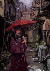 japanese clothes k6tetsu morino rinze the idolm@ster the idolm@ster shiny colors umbrella #89938
