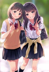 Rating: Safe Score: 83 Tags: morikura_en seifuku User: donicila