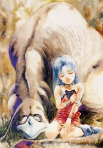 Rating: Safe Score: 4 Tags: ishtar macross macross_ii mikimoto_haruhiko User: Radioactive