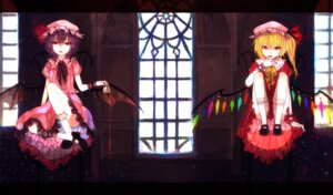 Rating: Safe Score: 10 Tags: flandre_scarlet remilia_scarlet sono touhou wings User: Nekotsúh
