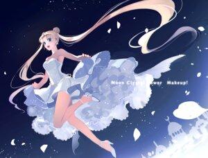 Rating: Safe Score: 14 Tags: dress heels no_bra rei_(usabiba) sailor_moon skirt_lift tsukino_usagi User: Mr_GT
