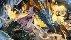 Rating: Safe Score: 29 Tags: blood cleavage drakengard_3 monster sword usui_no_ken zero_(drakengard) User: Zenex