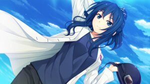 Rating: Safe Score: 46 Tags: akabeisoft3 game_cg nojiri_takako open_shirt sorairo_innocent unasaka_ryou User: mattiasc02