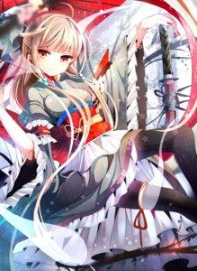 Rating: Safe Score: 64 Tags: fumiko_(miruyuana) pantyhose saigyouji_yuyuko sword touhou User: tbchyu001