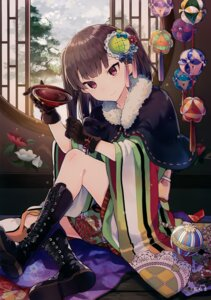Rating: Questionable Score: 26 Tags: japanese_clothes sake tanuma_(tyny) User: Hatsukoi