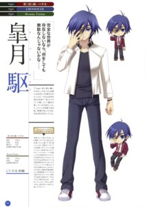 Rating: Safe Score: 3 Tags: 11eyes chibi eyepatch kengou male profile_page satsuki_kakeru User: crim
