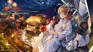 Rating: Safe Score: 40 Tags: jidong_zhandui kimono neko snow_is_ tagme wallpaper User: BattlequeenYume
