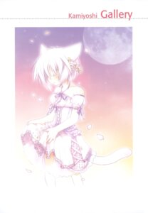 Rating: Safe Score: 6 Tags: animal_ears dress kamiyoshi lolita_fashion nekomimi tail User: crim