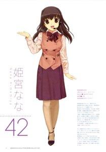 Rating: Safe Score: 4 Tags: himemiya_nana mibu_natsuki tetsudou_musume User: fireattack