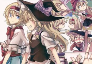 Rating: Safe Score: 24 Tags: alice_margatroid kirisame_marisa tagme touhou witch User: Radioactive