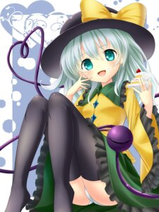 Rating: Questionable Score: 17 Tags: bug komeiji_koishi pantsu thighhighs touhou User: 椎名深夏