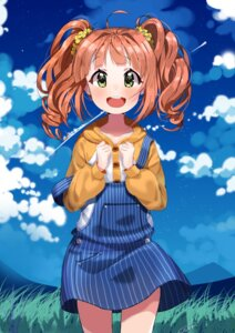 Rating: Safe Score: 19 Tags: autographed dr_poapo takatsuki_yayoi the_idolm@ster User: charunetra