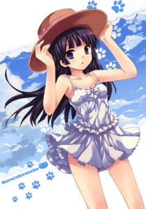 Rating: Safe Score: 59 Tags: dress gokou_ruri ore_no_imouto_ga_konnani_kawaii_wake_ga_nai peach summer_dress User: fireattack