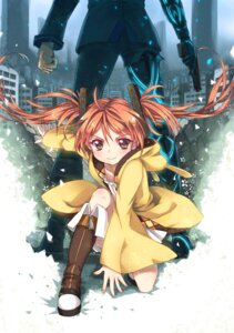 Rating: Safe Score: 51 Tags: abyss_of_parliament aihara_enju black_bullet satomi_rentarou User: 椎名深夏