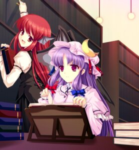 Rating: Safe Score: 20 Tags: cetera koakuma patchouli_knowledge touhou User: Mr_GT