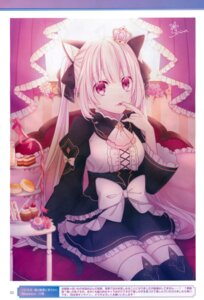 Rating: Safe Score: 19 Tags: animal_ears choujigen_game_neptune four_goddesses_online:_cyber_dimension_neptune kuronekohime lolita_fashion nekomimi tagme tail thighhighs User: Nepcoheart