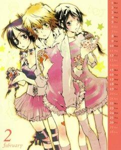 Rating: Safe Score: 7 Tags: amano_akira calendar chrome_dokuro katekyo_hitman_reborn! miura_haru sasagawa_kyoko User: Radioactive