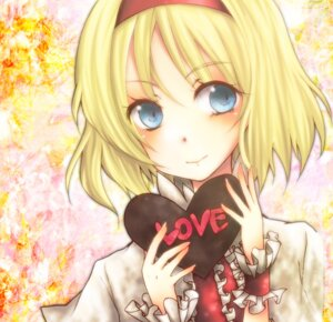 Rating: Safe Score: 12 Tags: alice_margatroid touhou umemaru valentine User: Radioactive