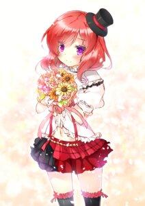 Rating: Safe Score: 35 Tags: love_live! miwabe_sakura nishikino_maki thighhighs User: fairyren