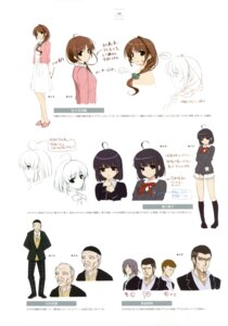 Rating: Safe Score: 8 Tags: business_suit character_design dress seifuku sketch tagme ushinawareta_mirai_wo_motomete User: Twinsenzw