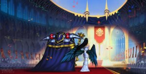 Rating: Safe Score: 26 Tags: albedo_(overlord) armor darkmuleth dress overlord wings User: Mr_GT