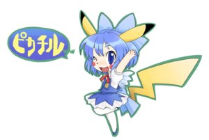 Rating: Safe Score: 14 Tags: cirno cosplay kiriu pikachu pokemon touhou User: konstargirl