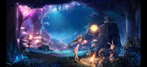 Rating: Safe Score: 19 Tags: animal_ears armor botro bunny_ears dress heels horns landscape tail tera_online User: Mr_GT
