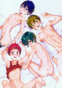 Rating: Explicit Score: 7 Tags: cum free! high_speed! kirishima_ikuya male naked nanase_haruka nipples shiina_asahi shota tachibana_makoto tataru_(pixiv_785179) yaoi User: kunkakun