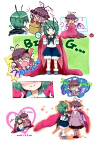 Rating: Safe Score: 8 Tags: mystia_lorelei poko_(mammypoko) touhou wriggle_nightbug User: Mr_GT