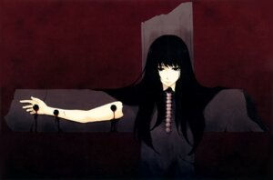 Rating: Questionable Score: 8 Tags: blood extreme_content guro kara_no_shoujo sugina_miki tagme User: Hatsukoi