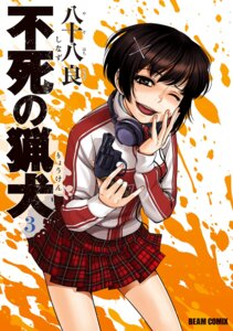 Rating: Questionable Score: 9 Tags: gun headphones seifuku shinazu_no_ryouken yasohachi_ryou User: blooregardo