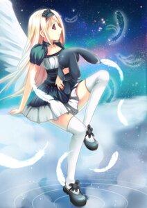 Rating: Safe Score: 23 Tags: dress murasaki_shitsu wings User: dreamer2908