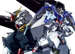 Rating: Safe Score: 8 Tags: 00_gundam gun gundam gundam_00 mecha seravee_gundam User: Radioactive