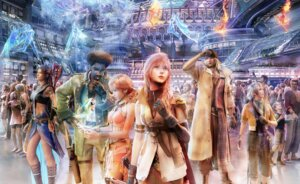 Rating: Safe Score: 23 Tags: cg final_fantasy final_fantasy_xiii hope_estheim lightning oerba_dia_vanille oerba_yun_fang sazh_katzroy snow_villiers square_enix User: Radioactive