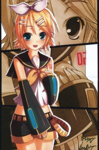 Rating: Safe Score: 4 Tags: crease kagamine_rin kouken vocaloid User: Akibarika