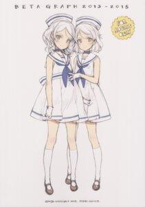Rating: Questionable Score: 2 Tags: oyari_ashito shoujo_kishidan sketch tagme uniform User: Radioactive