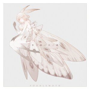 Rating: Questionable Score: 18 Tags: monochrome monster_girl tagme topless wings User: Radioactive