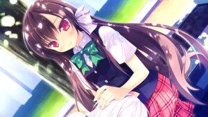 Rating: Safe Score: 37 Tags: alcot game_cg loverec narumi_yuu seifuku shirosawa_miyuki User: donicila