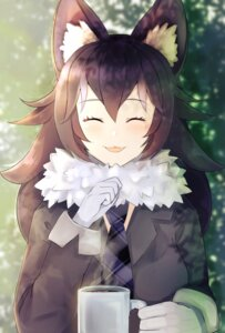 Rating: Safe Score: 21 Tags: ancolatte_(onikuanco) animal_ears grey_wolf kemono_friends User: charunetra