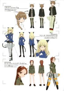 Rating: Safe Score: 7 Tags: lynette_bishop minna_dietlinde_wilcke pantyhose perrine-h_clostermann shimada_humikane strike_witches User: silentwolf