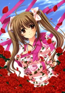 Rating: Safe Score: 21 Tags: cleavage dress nishimata_aoi User: fireattack