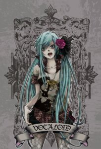 Rating: Safe Score: 9 Tags: ebitendon hatsune_miku pantyhose vocaloid User: Radioactive