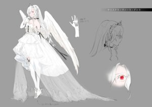 Rating: Questionable Score: 25 Tags: character_design cleavage dress heels see_through sketch tagme thighhighs wings User: h71337